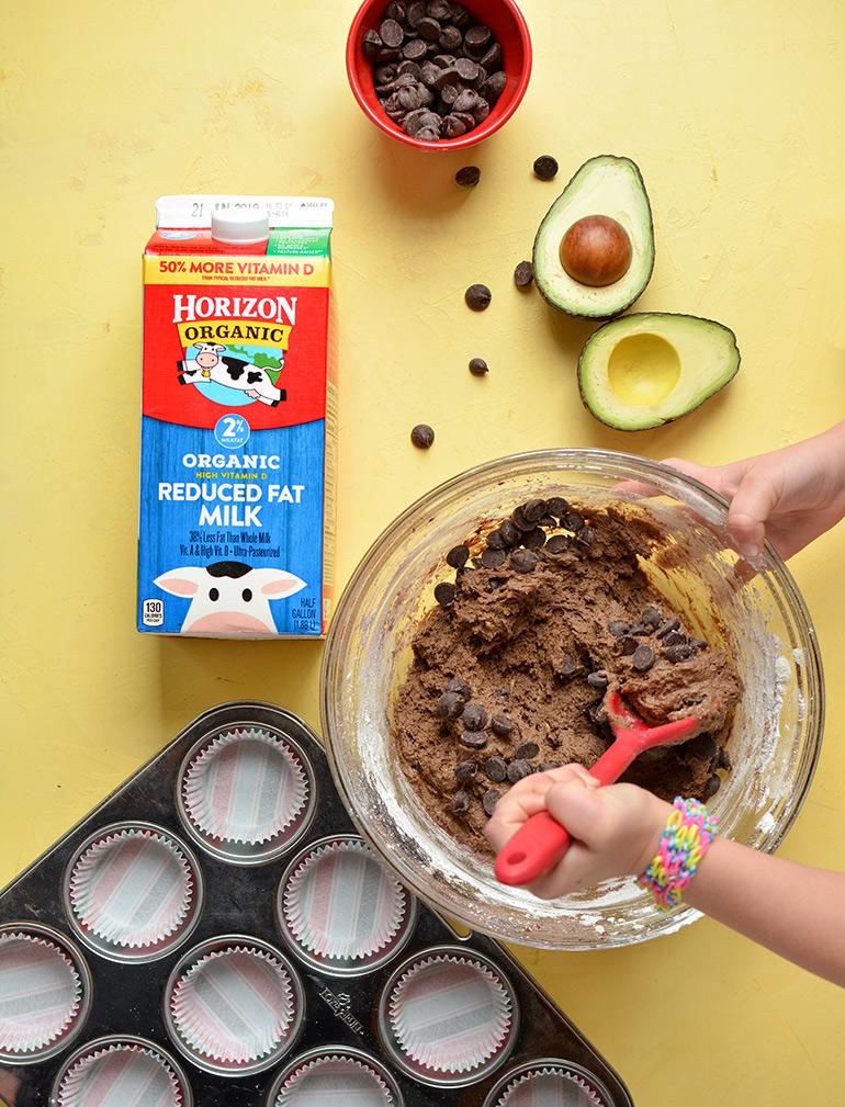 horizon organic chocolate avocado muffins