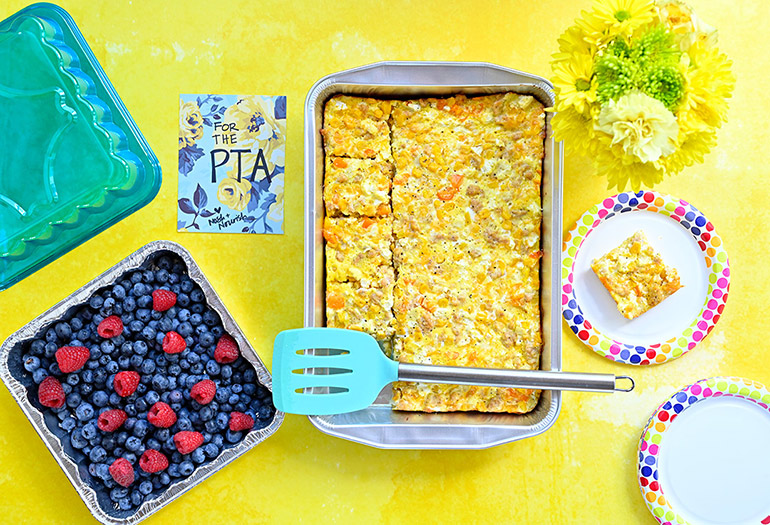 easy breakfast casserole for a crowd