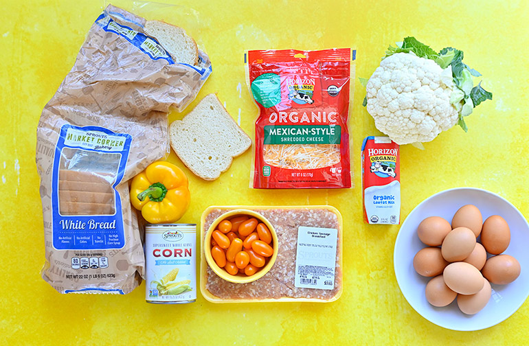 easy breakfast casserole ingredients from sprouts