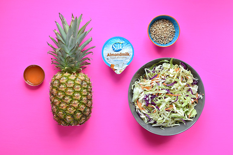 pineapple slaw ingedients
