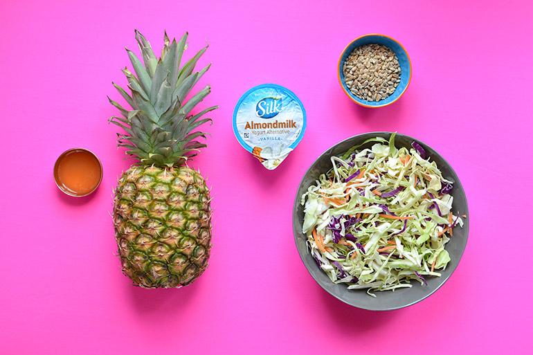 pineapple slaw ingedients