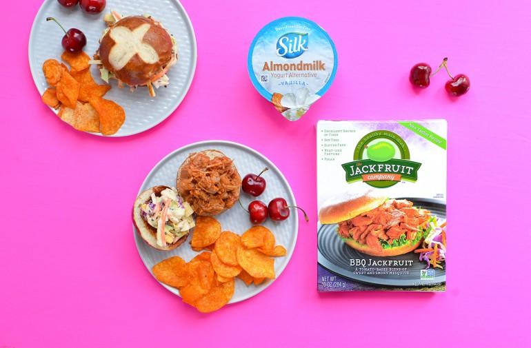 bbq jackfruit packaging