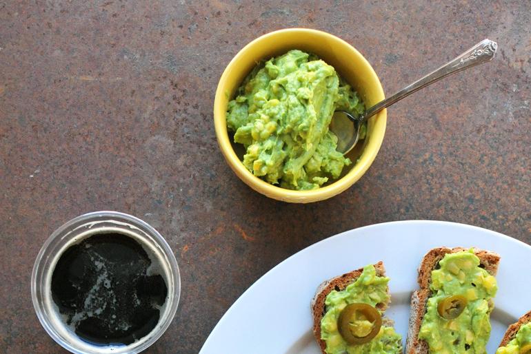 jalapeno corn avocado dip