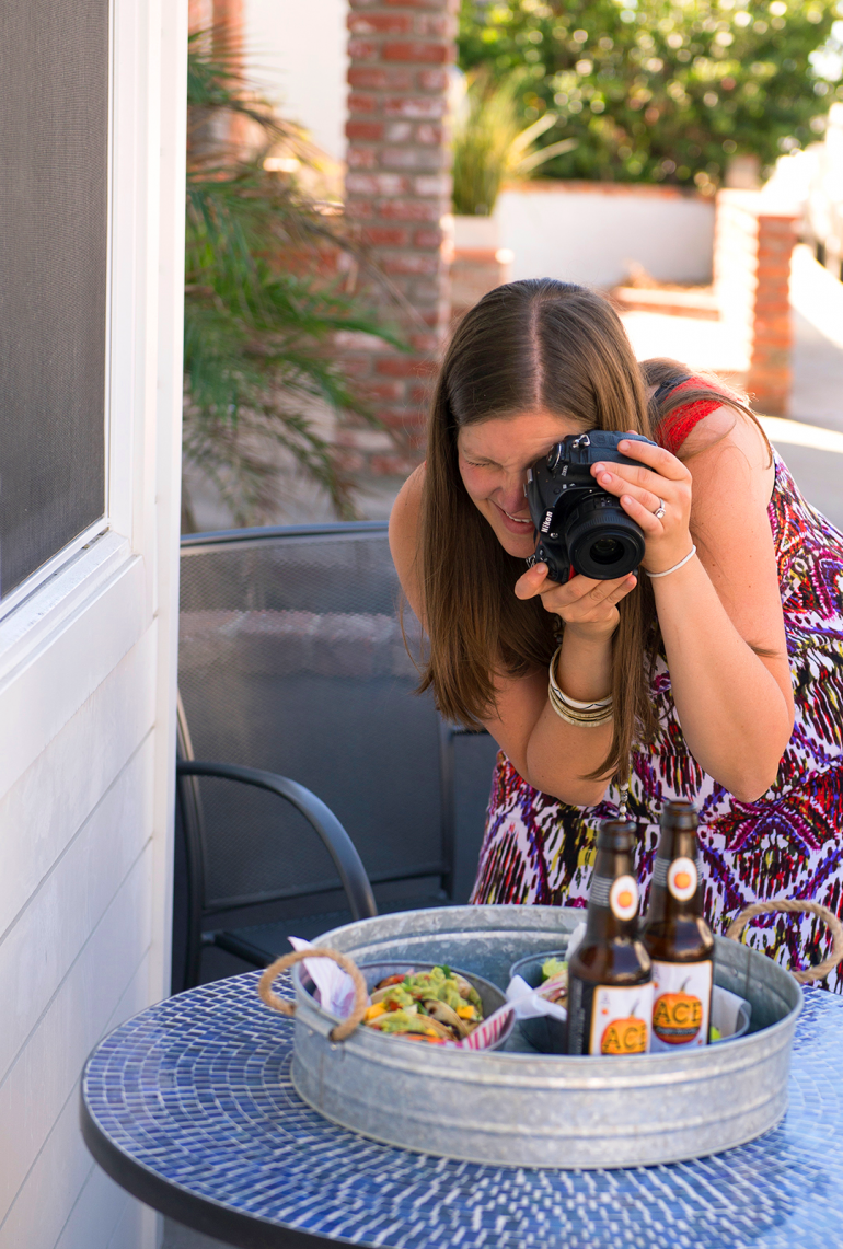 kel nosh and nourish photography in action