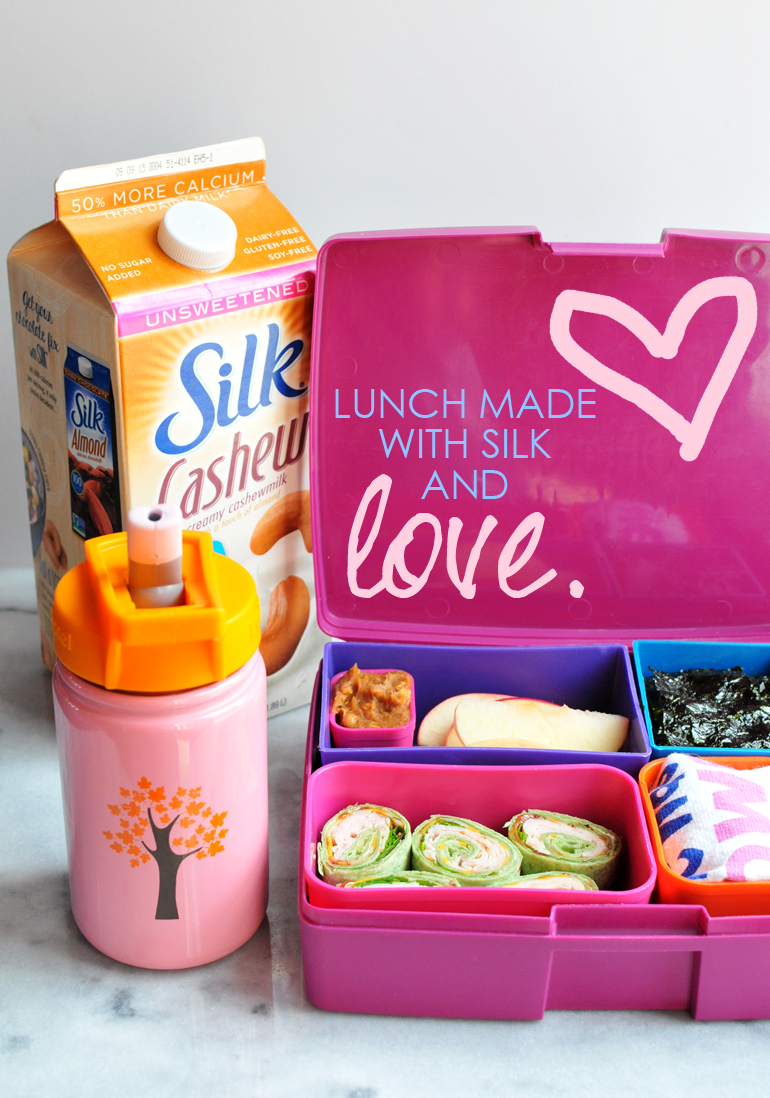 silk lunchbox made with love