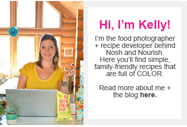 meet kelly from nosh and nourish