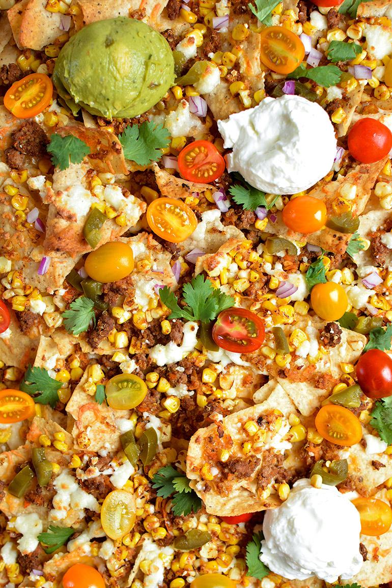 nachos close up