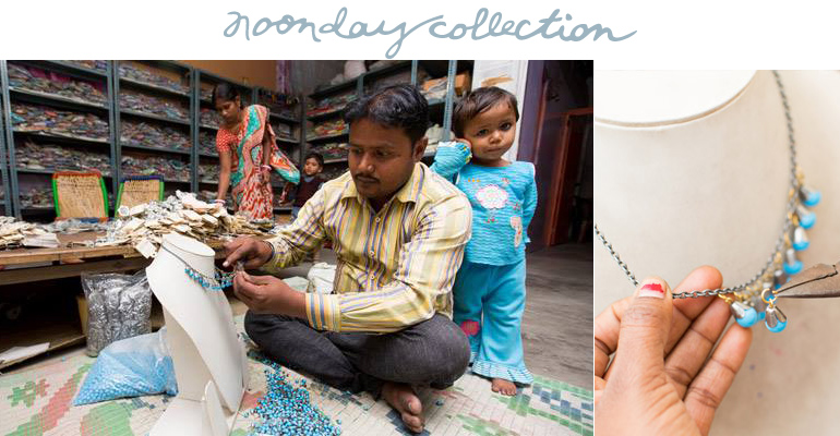 noonday artisan and child