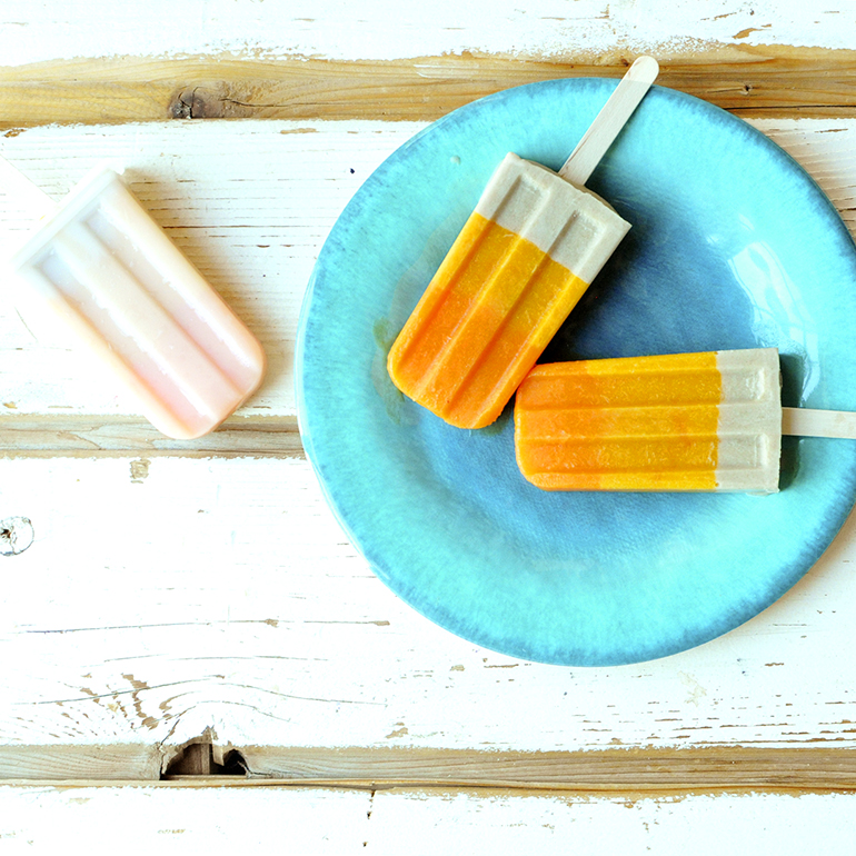 peach pie creamsicles