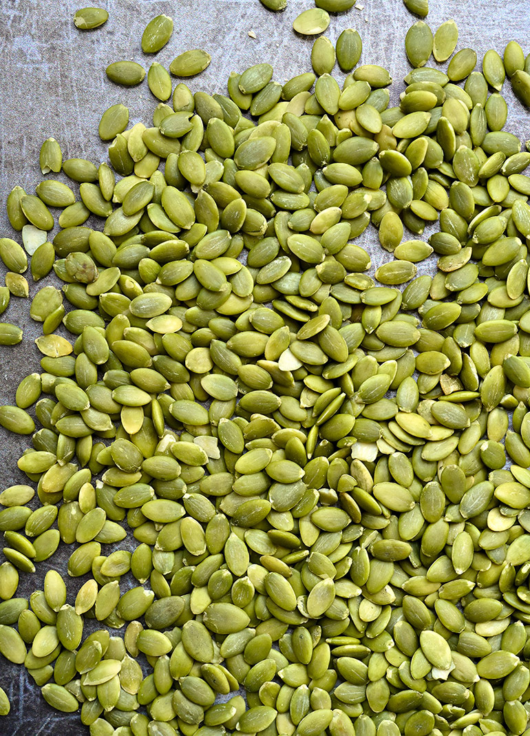 raw pumpkin seeds from Sprouts