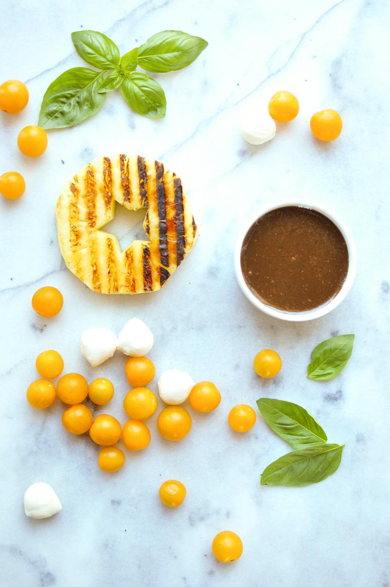pineapple caprese skewers ingredients