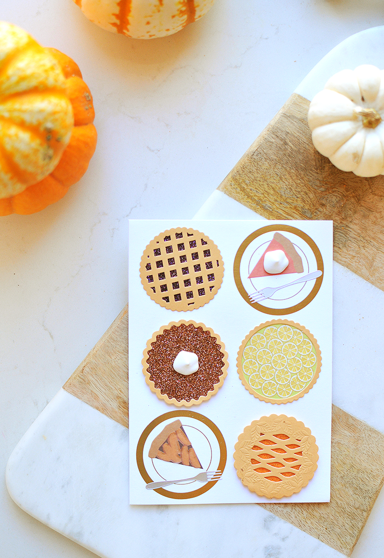 pumpkin pie and all the pies