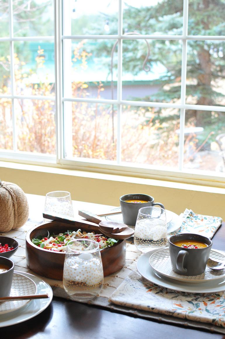 pumpkin bisque thanksgiving appetizer