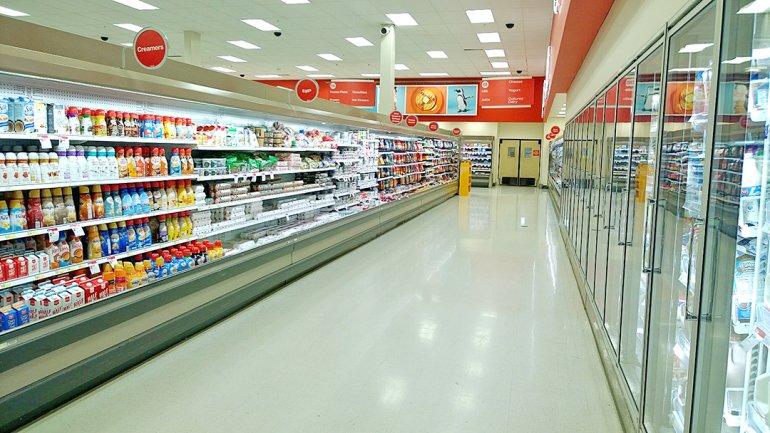 target creamer aisle