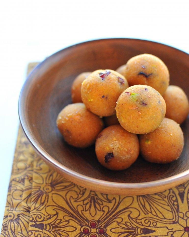 pumpkin cookie dough balls