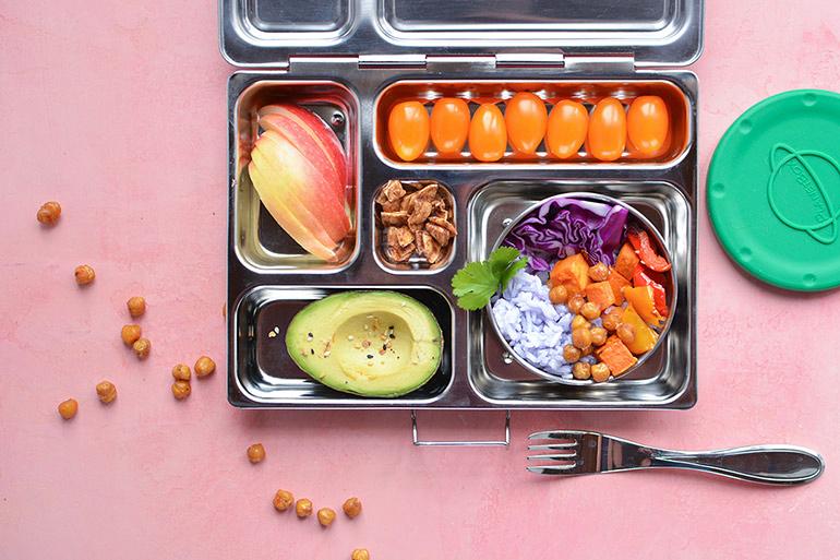 Rainbow Buddha bowl lunchbox