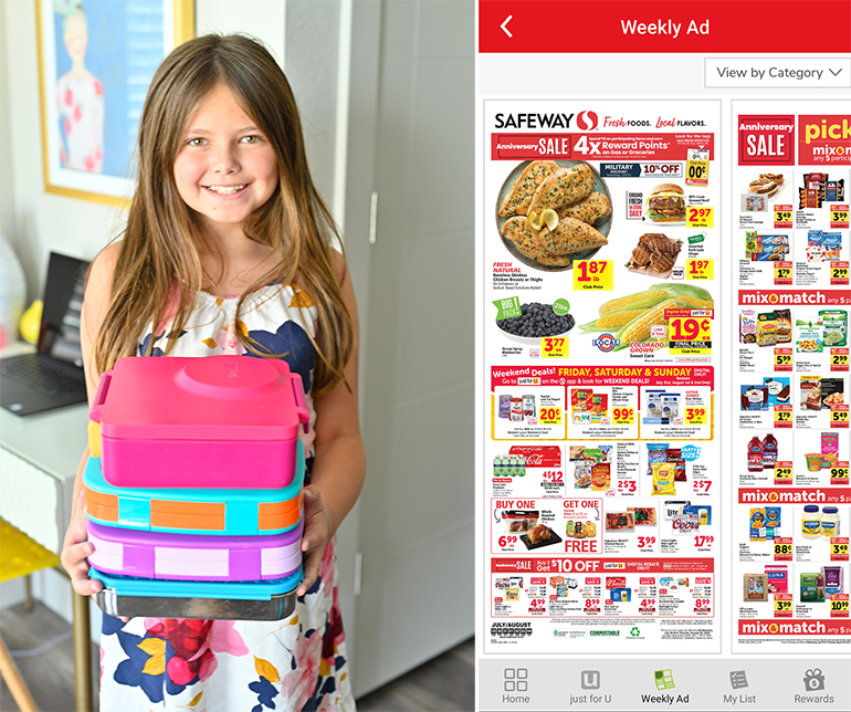 safeway app weekly ad with babycakes