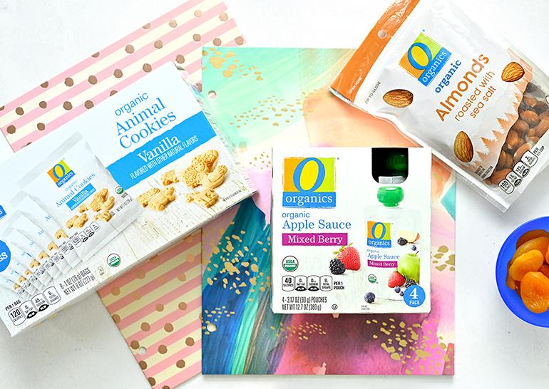 safeway o organics back to school items