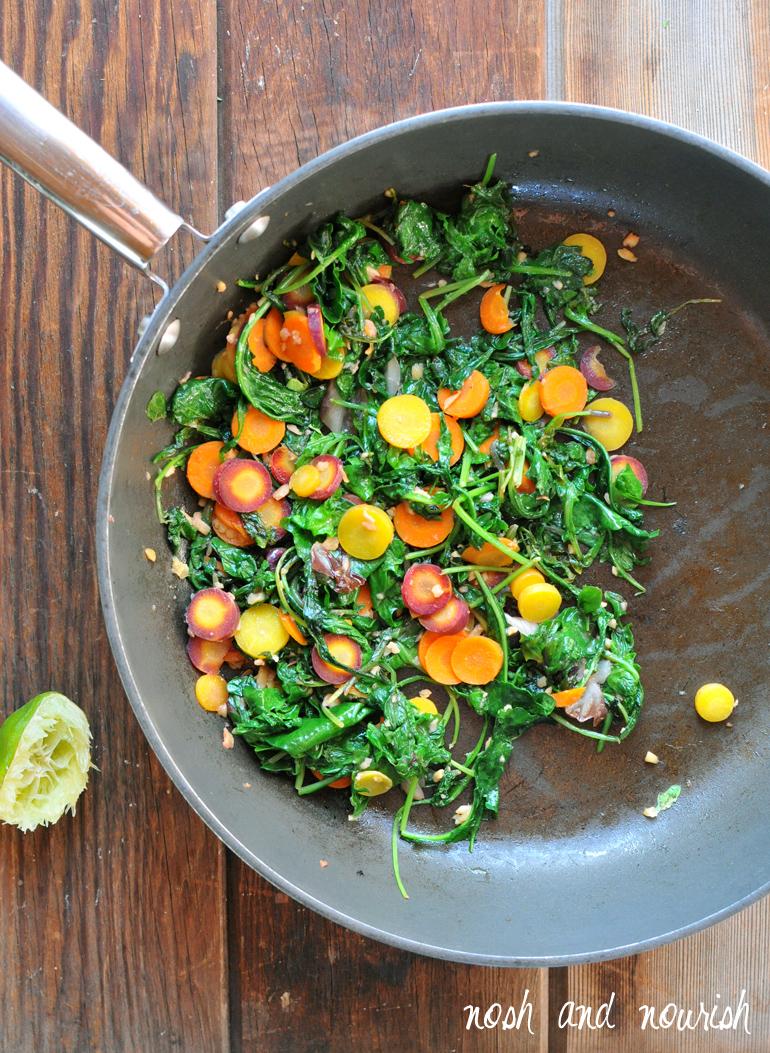 sauteed greens