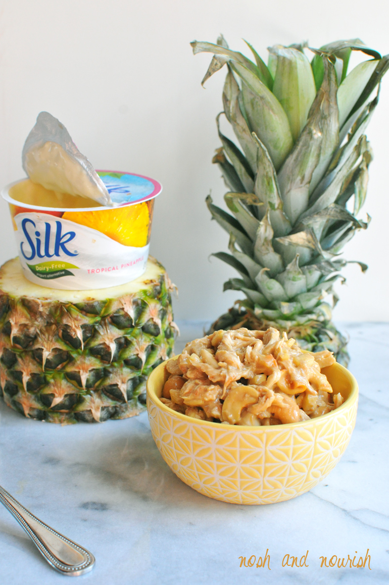 pineapple chicken salad