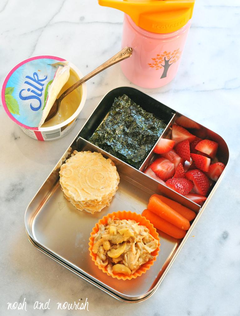 silk easy lunchbox idea
