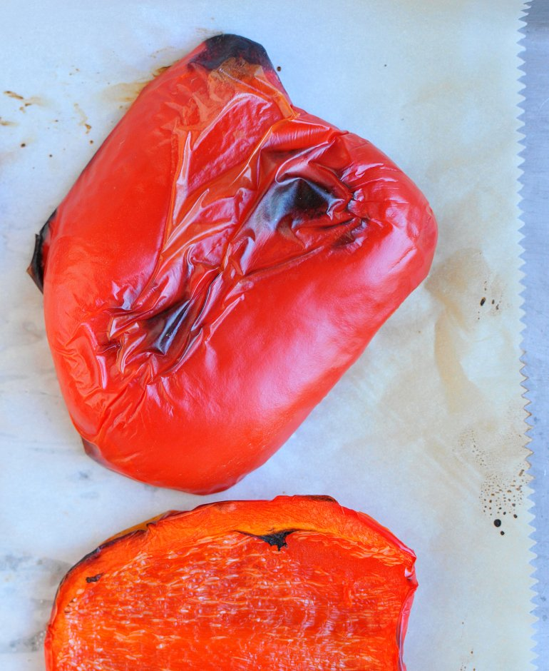 roasted red pepper for alfredo