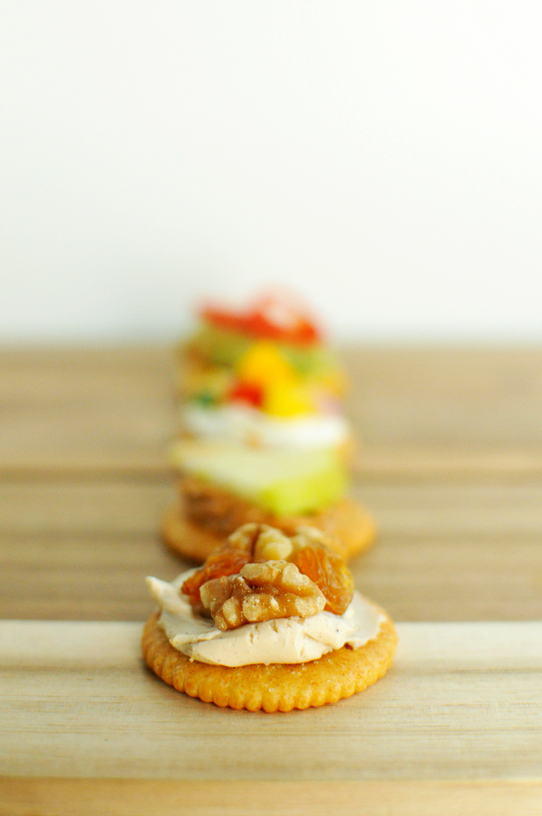 stack it up with ritz cinnamon cream cheese