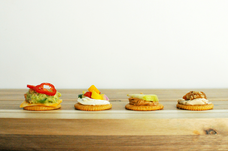 stack it up with ritz