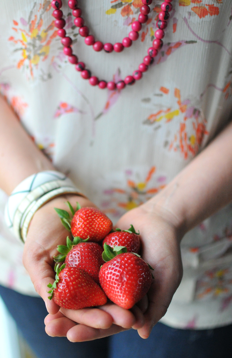 noonday jewelry plus strawberries