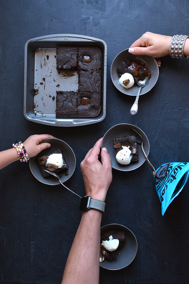 super nutty brownies