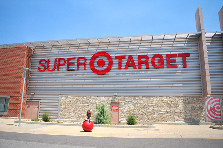 super target back to school shopping