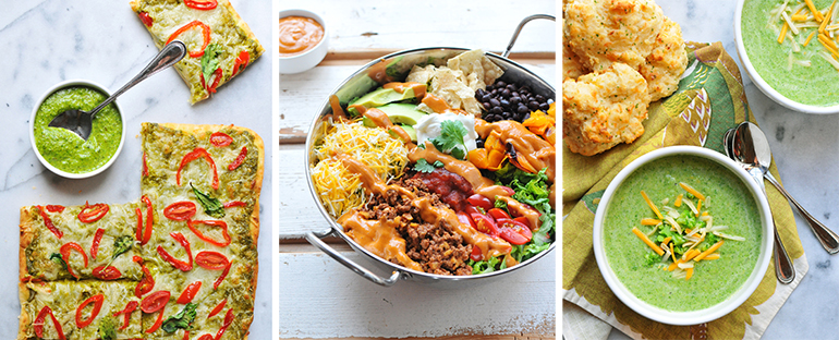 superfood weeknight meals - easy recipes 1
