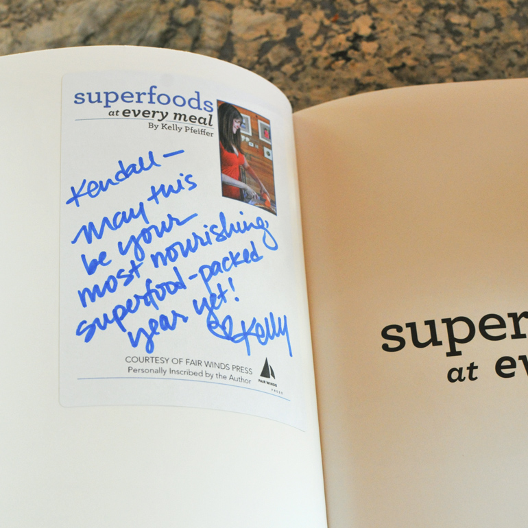 superfoods at every meal book plate