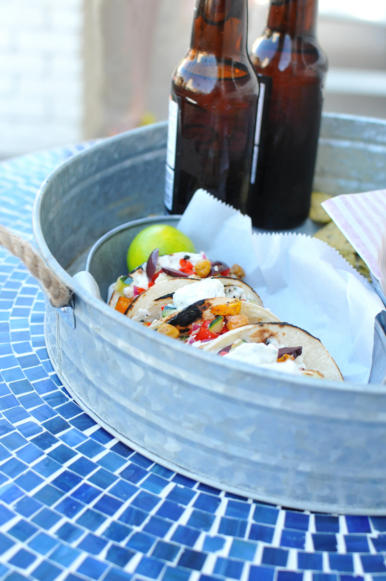 street tacos two ways at the beach with goodfoods group