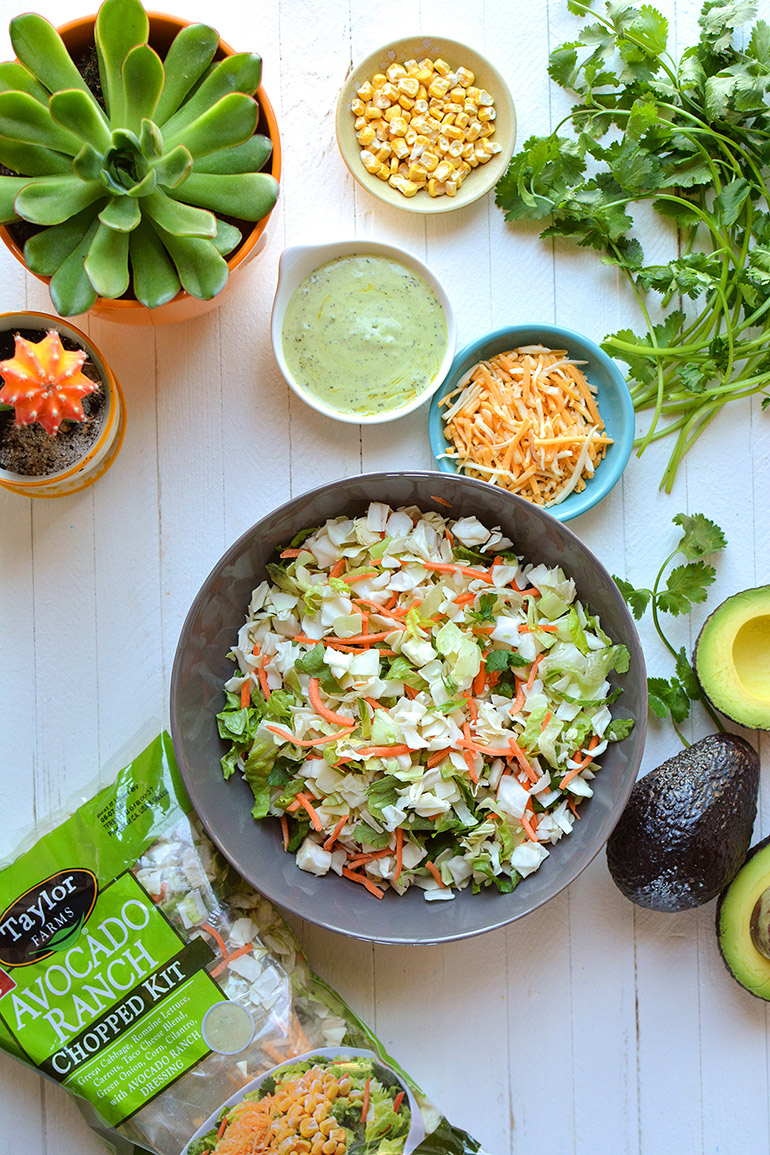 taylor farms avocado ranch chopped salad kit
