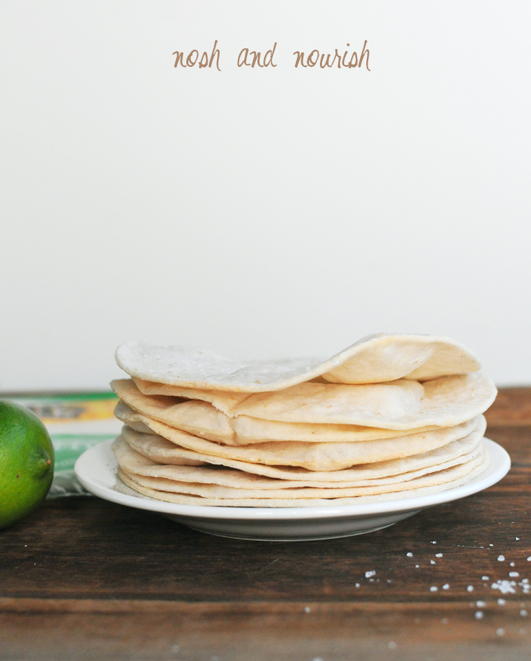 udi's gluten free tortillas in a stack