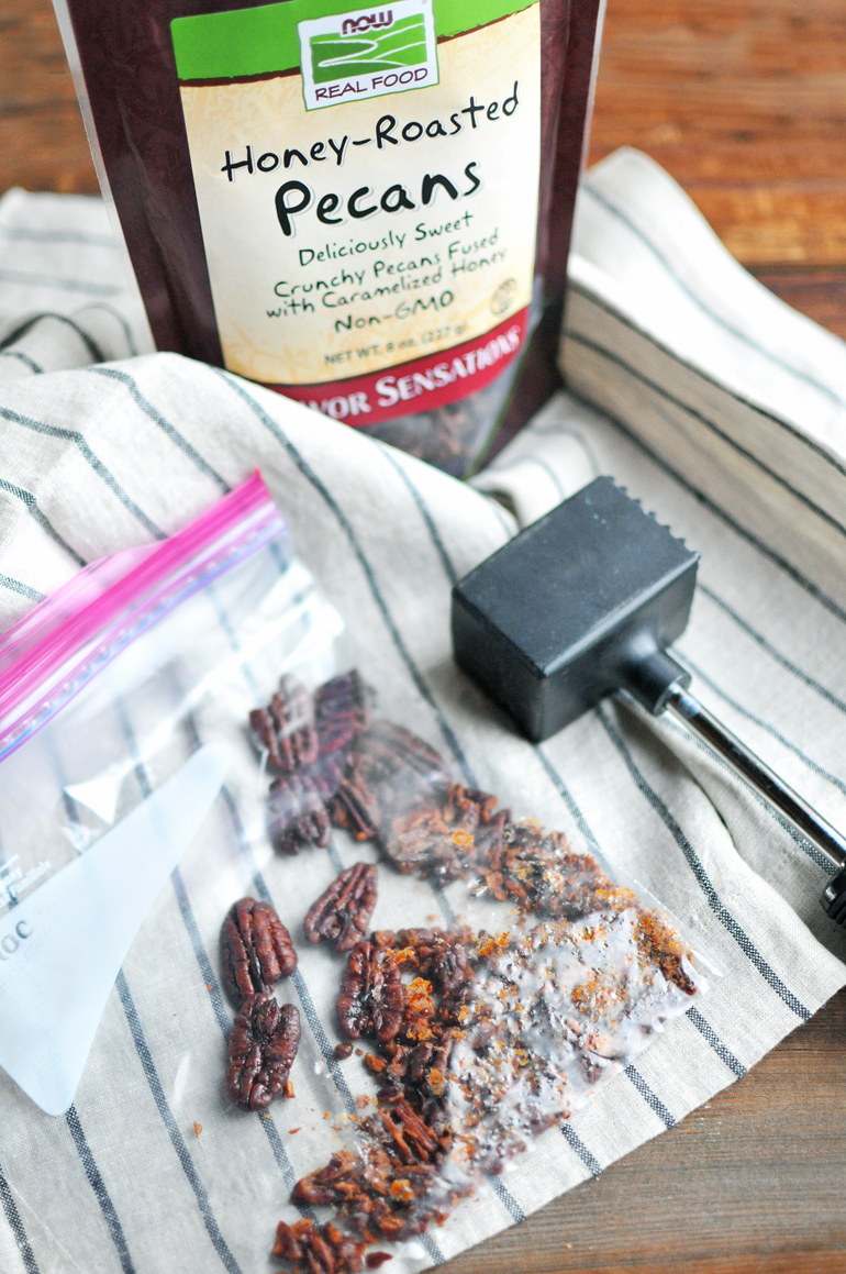 now foods honey roasted pecans