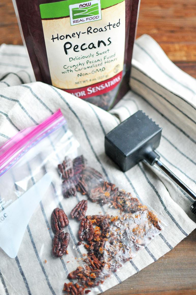 now foods honey roasted pecans