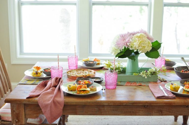 Mother S Day Brunch Menu Smoked Salmon Breakfast Stacks Nosh And